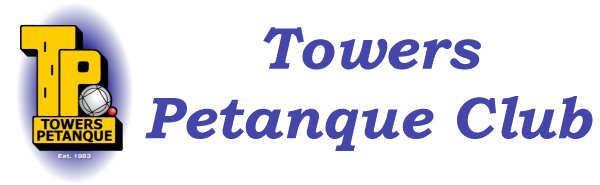 Towers Petanque Club Retina Logo